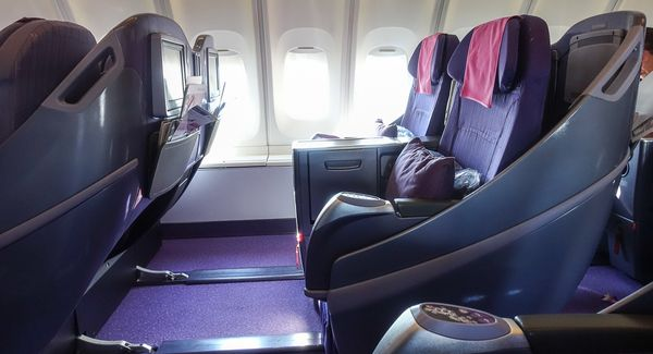 Review: Thai Airways Business Class Sapporo to Bangkok